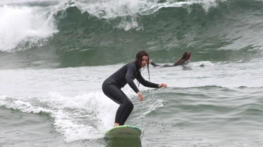 Comienzo de la temporada de surf